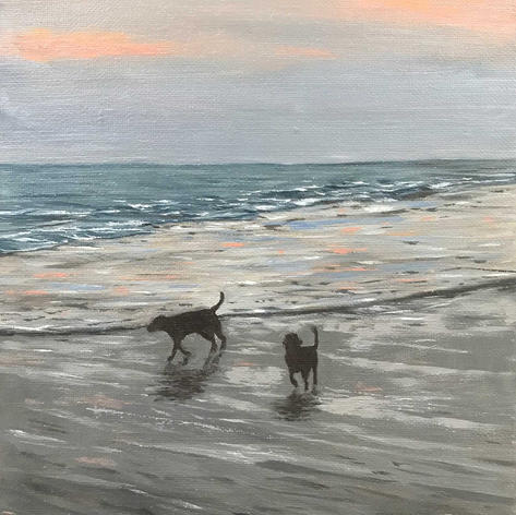 """1st Place """"Reflections of a BeachWalk"""""""