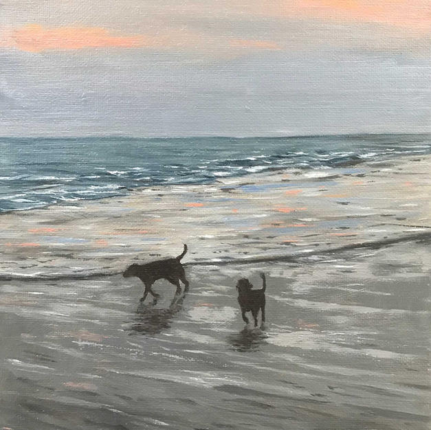 """Reflections of a Beach Walk"""