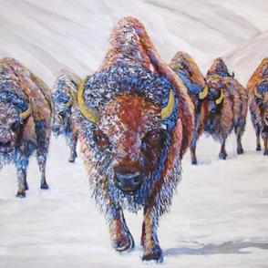 """""""Winter Bison"""""""