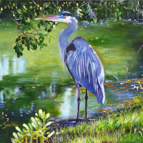 """2nd Place """"Blue Heron"""""""