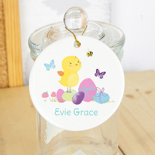 So fantastic gifts personalised easter gifts free uk delivery easter meadow personalised chick decoration negle Gallery