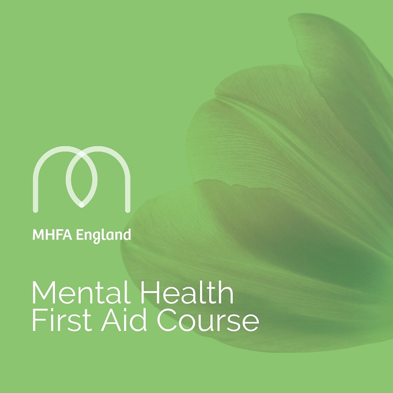 Mental Health First Aid Course in Wigan on the 7th & 8th October