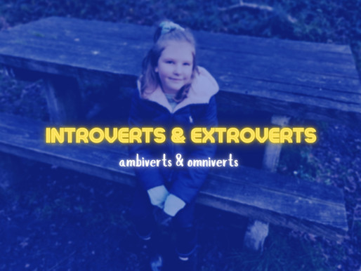 Introvert, Extrovert, Ambivert & Omnivert