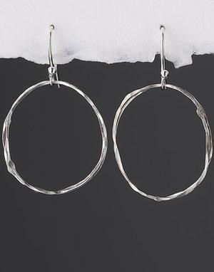 Double Enzo on Hook Earrings