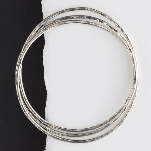 Intertwined Bangles