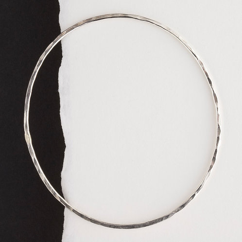 Skinny Oval Bangle