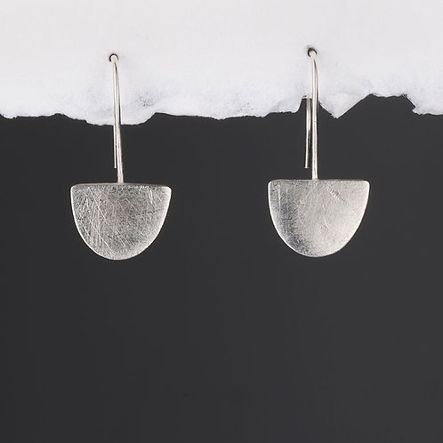 Ahoy Silver Hook Earrings