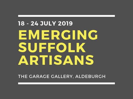 CATCH ME AT THE GARAGE GALLERY, ALDEBURGH IN JULY