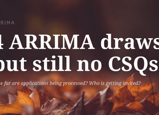 The 4th ARRIMA draw happened but still no CSQ's issued