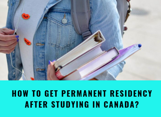 How to get Permanent Residency after Studying in Canada?