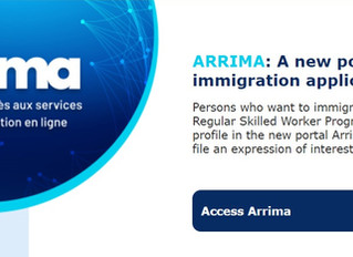 ARRIMA: Invitations are starting, submit your application NOW