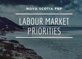 Nova Scotia PNP: Labour Market Priorities