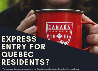 Express Entry for Quebec Residents?