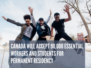 BREAKING NEWS: Canada will accept 90,000 students and workers for permanent residency!