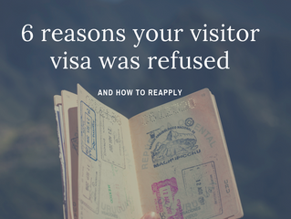 6 reasons why your visitor visa was refused and how to reapply