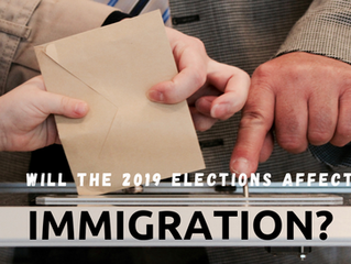 How will the 2019 Canadian Elections affect Immigration policies?