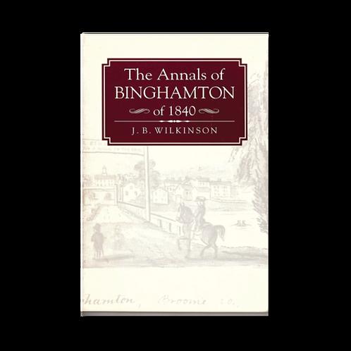 The Annals of Binghamton of 1840