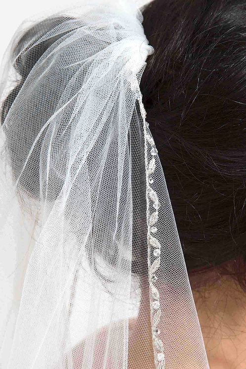 Amy Venus Bridal Studio Veil Beaded Tulle