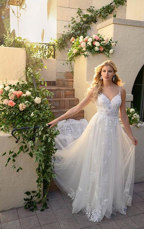 riley stella york bridal studio aline show string low back