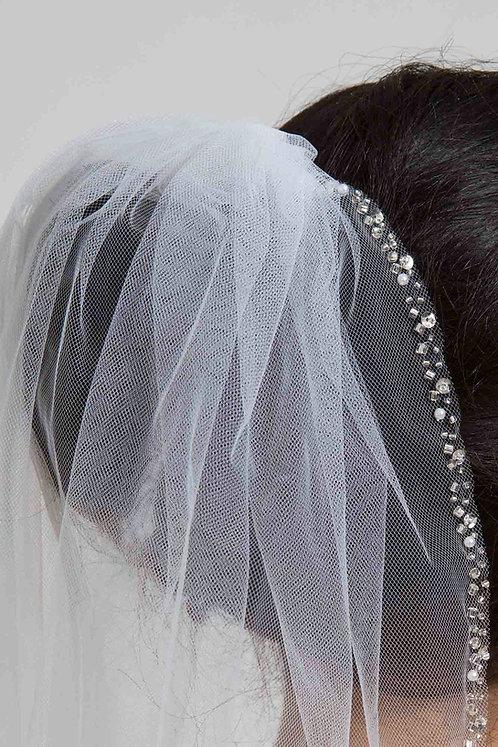 Ellena Venus Bridal Studio Veil Beaded Tulle