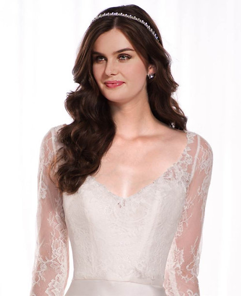 Rachel Essense Bridal Studio Lace Jacket Bolero Illusion