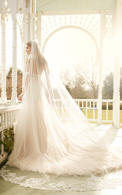 Alani Essense Bridal Studio Cathedral Lace Veil