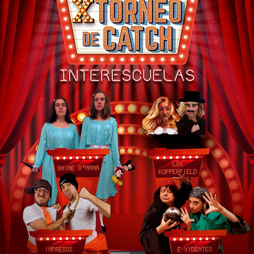 Partido inaugural X Torneo Catch de alumnos ECDLI