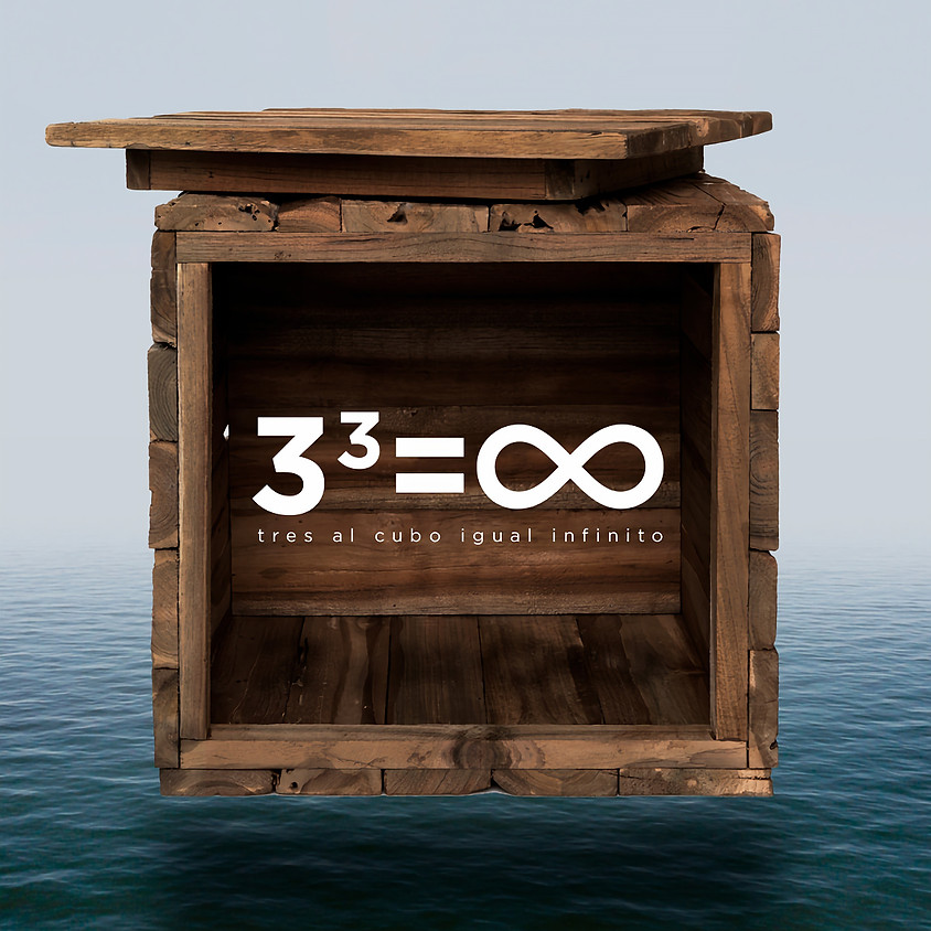 tres al cubo = infinito. Muestra de alumnos ENTRADAS AGOTADAS