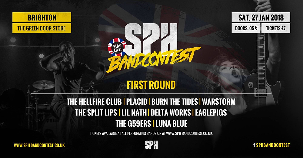 SPH Band Contest Brighton - flyer