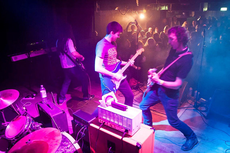 The G59ers rocking out at The Haunt
