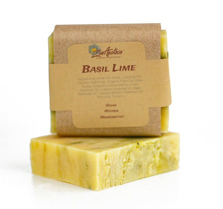 Basil Lime Handcrafted Soap (Vegan)