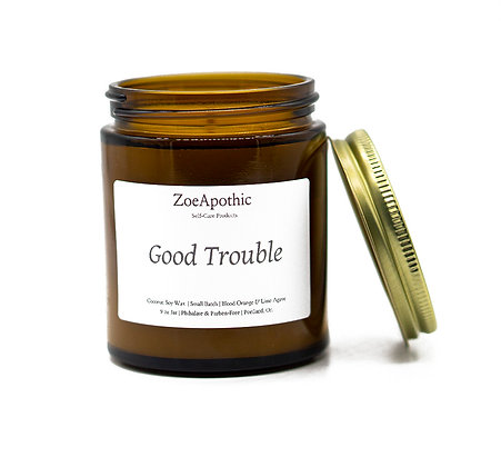 Good Trouble Candle