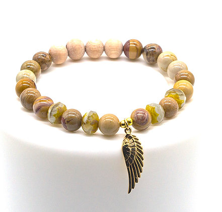 Hickoryrite and Rosewood Diffuser Bracelet