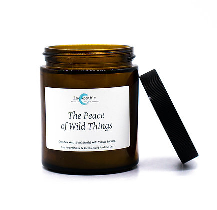The Peace of Wild Things Candle