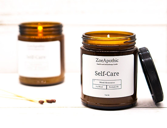 Self-Care Soy Candle