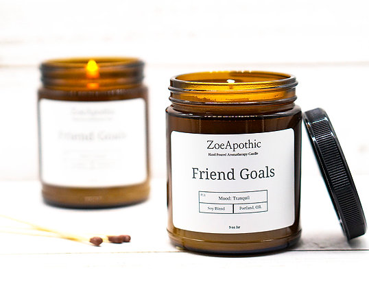 Friend Goals Soy Candle
