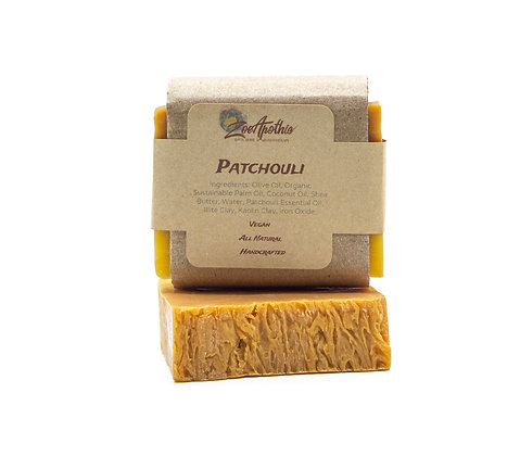 Patchouli Handcrafted Soap (Vegan)