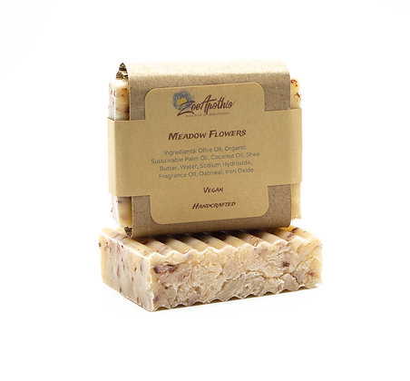 Meadow Flower Handcrafted Soap (Vegan)