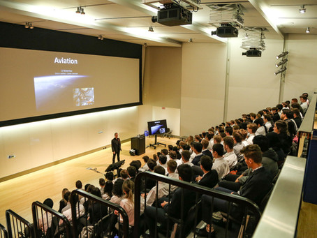 Chris Hadfield Lecture - Thank you!!
