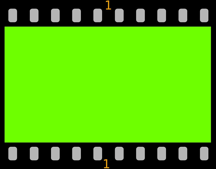 000 AAA 16-9AR-video-Filmstrip greenscre