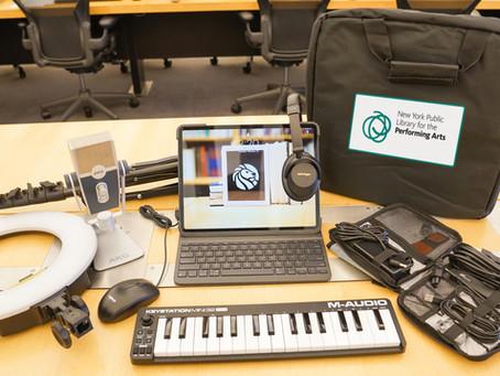 Need recording equipment?