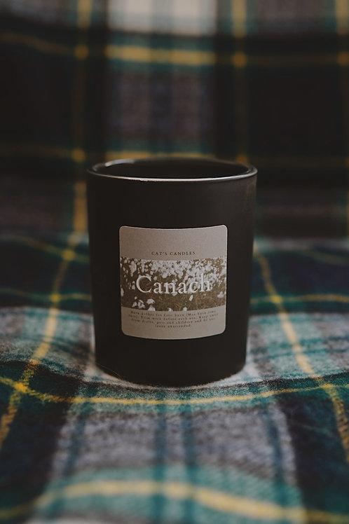 Canach Matt Black Candle