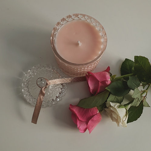 Special Edition No.55 Peony & Blush Suede Candle