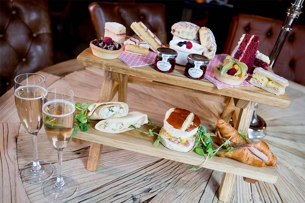 Afternoon Tea at The Bastion Restaurant