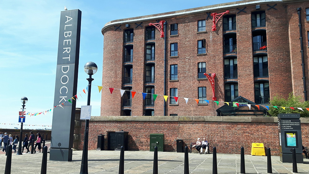 In July 2018, The Albert Dock became the Royal Albert Dock