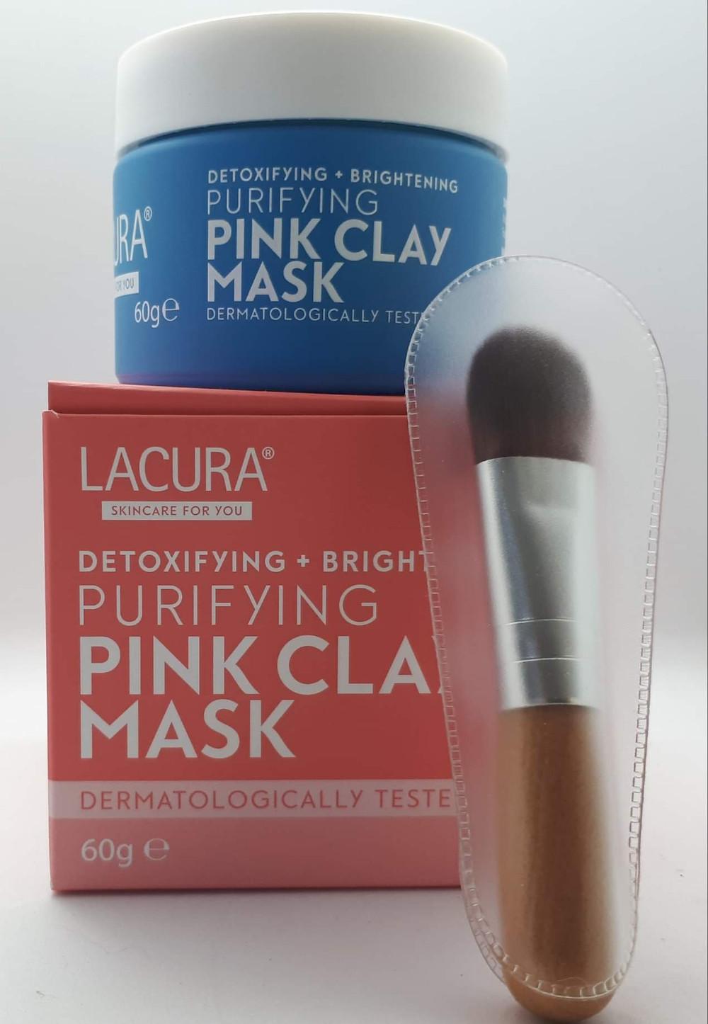 Aldi's Lacura Pink Clay Mask