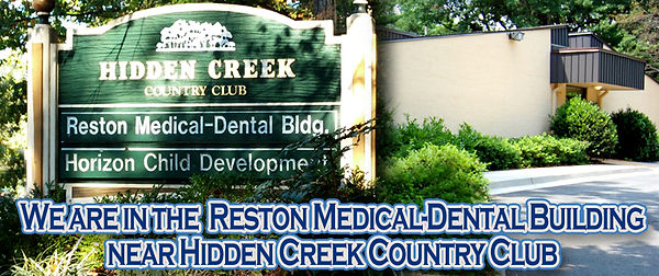 Sign for Reston Medical-Dental Building - Offices of George B Zacko, DDS & Associates