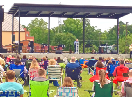 Outdoor Worship Service and Graduation Celebration