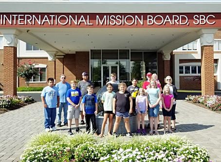 "Meeting ""Real Live"" Missionaries at the IMB"