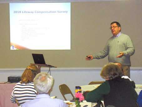 Financial Seminar Assists Church Treasurers